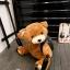 (new)สินค้าขายดี⭐⭐⭐ พร้อมส่ง กระเป๋าหมีแฟชั่นนำเทรน + สพายหลัง (สามารถซื้อขอขวัญ ของฝากใช้งานได้จริง แถมน่ารักด้วย) งานนำเข้าพรีเมี่ยม ขนาดกำลังดี งานน่ารักมากจ้า ข้างในมีช่องเล็กใส่ของจุกจิก สายสะพายยาว thumbnail 5