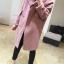 สีชมพู : เสื้อโค้ทกันหนาว ทรงสวย ผ้ากำมะหยี่ผสมสักกะหลาด เนื้อเบา ไม่หนา ทรงไม่เข็งค่ะ บุซับในกันลม พร้อมส่งจ้า thumbnail 9