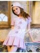 เดรสสไตล์แบรนด์ BRAND : Queenp Ribbon Candy Cloud Dress