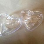 แม่พิมพ์ BathBomb รูปหัวใจ 8*8*4.5 cm