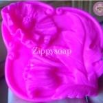 แม่พิมพ์ซิลิโคลนรูปดอกไม้ ขนาด 100 กรัม