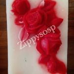 แม่พิมพ์ ดอกกุหลาบ 1 ช่อง 100 g