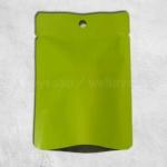 ซองฟอยล์สีเขียวมีรูแขวน 10x14 cm. 100 ชิ้น
