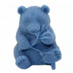 แม่พิมพ์ซิลิโคน 3D รูปหมีแพนด้า 100g