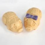 แม่พิมพ์ซิลิโคน รูปหมูตัวเมีย กับหมูตัวผู้ 85g