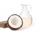 น้ำมันมะพร้าวสกัดเย็นบริสุทธิ์ 100 ไม่แต่งกลิ่นสังเคราะห์ (1000 มล.)