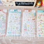 (เซ็ต 4 แผ่น) Sumikko Sticker Set