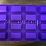 แม่พิมพ์ซิลิโคน สี่เหลี่ยมช็อกโกแล็ต 3.2*5.2*1.5 cm