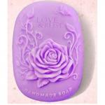 แม่พิมพ์สบู่ รูปดอกกุหลาบ love rose