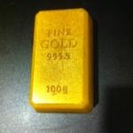 แม่พิมพ์ รูปทองคำแท่ง 100g 5 ช่อง