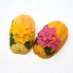 แม่พิมพ์ซิลิโคน รูปดอกไม้ 100g