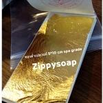ทองคำเต็มแผ่น 100% เกรดสปา 5*10cm 5แผ่น