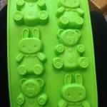 แม่พิมพ์ รูปหมี กระต่าย