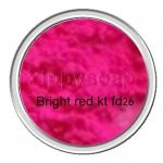 สีสะท้อนแสง ชมพูสว่าง Bright Red KT-FD26 50g.