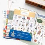 (เซ็ต 9 แผ่น) Korea Diary Deco Pack v.4