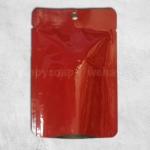 ซองฟอยล์สีแดงมีรูแขวน 10x14 cm. 100 ชิ้น