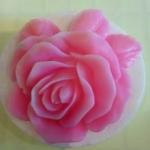 แม่พิมพ์สบู่ รูปดอกกุหลาบ (100 g)