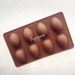 แม่พิมพ์ รูปไข่ 8 ช่อง 50g