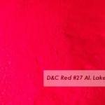 D&C Red No.27 Lake 30g ละลายน้ำมัน