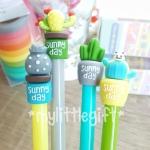 (มี 4 ลายให้เลือกค่ะ) Sunny Day Cactus Gel Pen