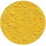 สี iron oxide yellow 50g pure