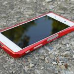 เคส Xperia X ของ DEVILCASE Aluminum Bumper Case – สีแดง