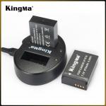 แท่นชาร์จ CANON LP-E12 Camera Battery Double USB Charger Kingma BM015-LPE12 Kingma