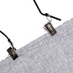 ตัวหนีบ คลิปหนีบ ขึงกระดาษ ผ้าฉาก ฉากหลัง backdrop background clips holder CLIPS-A 4 เส้น