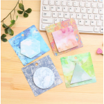 (Set 4 ชิ้น) Colorful Marble Post-it