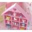 ชั้นวางของ handmade 10ช่อง รูปบ้าน สีชมพู thumbnail 3