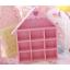ชั้นวางของ handmade 10ช่อง รูปบ้าน สีชมพู thumbnail 2