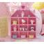 ชั้นวางของ handmade 10ช่อง รูปบ้าน สีชมพู thumbnail 1