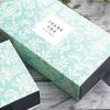 กล่องสี่เหลี่ยมผืนผ้าลายกราฟฟิกดอกไม้ ขนาด 3.5*8.5*16.5 cm 20 ชิ้น