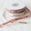 ribbon ริปบิ้นม้วน handmade สีขาวครีม 1cm*22m