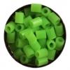 เม็ดบีดส์นุ่ม 1-2-3 ขนาด 2.6 มม. A13 สีเขียวนม