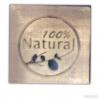 แสตมป์สบู่ Natural 100% ขนาด 3*3*1 cm