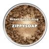 Mica น้ำตาลเข้ม เหลือบทอง brown golden 30g