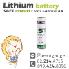 SAFT LS 14500 3.6V 2600mA AA size Primary Lithium Battery แบตเตอรี่ลิเธียม