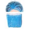 หมวกตัวหนอนสีฟ้า อย่างดี 10 ชิ้น