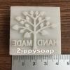 แสตมป์ต้นไม้ handmade 4*4 cm