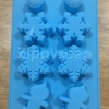 แม่พิมพ์ซิลิโคน winter หิมะ 8 ช่อง คละลาย