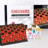 เกมส์หมากฮอส Checkers แบบแม่เหล็ก