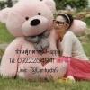 ตุ๊กตาหมีสีชมพูลืมตา2.0เมตร