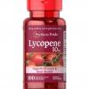 Puritan's Pride Lycopene 10 mg 100 Softgels สารสกัดมะเขือเทศเข้มข้น เม็ดนิ่มดูดซึมไว ต้านอนุมูลอิสระ บำรุงผิวเปล่งปลั่ง สดใส