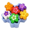 แม่พิมพ์ซิลิโคน ดอกไม้ 6ช่อง 30g