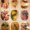 กระดาษเดคูพาจ ปริ้นบาง 14gram A4 วินเทจดอกไม้