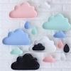 (Set 3 pcs) Clouds & Raindrops Ceramic Plate : เซ็ตจานเซรามิค ก้อนเมฆ, ฝน