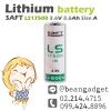 SAFT LS17500 3.6V 3600mA A size Primary Lithium Battery แบตเตอรี่ลิเธียม
