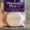 พัฟแต่งหน้าขนาดใหญ่ Wonder Pro Cotton Powder Puff Size 10cm.