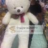 ตุ๊กตาหมีอ้วนขาสั้นสีขาวxxl